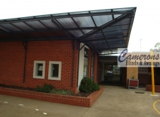 Polycarbonate Awnings & Canopies