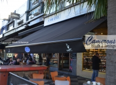 "Commercial Folding Arm Awning ""BAT Australia"" 