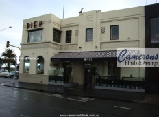 "Commercial Folding Arm Awning ""BAT Victory"" 
