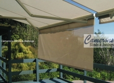 Folding Arm Awning with optional extendable valance