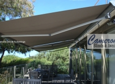 """Turnils Ibiza"" Folding Arm Awning Semi Cassette 