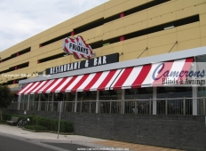 "Commercial Folding Arm Awning ""Stratos I"" @ TGI Fridays 