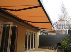 """Stratos III"" Folding Arm Awning"
