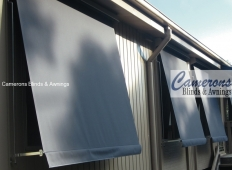 Classic Sun Blinds Shades in Blockout Canvas Fabric