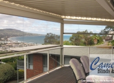 Ziptrak® Clear PVC Blind - Balcony - Mt Martha