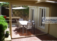 Ziptrak® Clear PVC Alfresco Blind