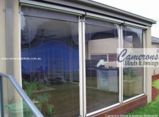 Ziptrak® Clear PVC Alfresco Blinds