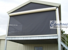 Ziptrak® Blind Features - Shade Mesh PVC Blinds with Fixed Gable Panel