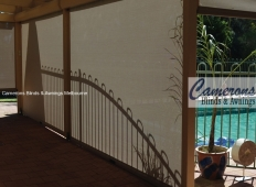 Ziptrak® Shade Mesh PVC Blinds - Inside
