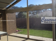 Ziptrak® Blind Features - Fixed PVC Panels & Removable Posts