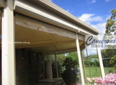 Ziptrak® Blind Features - Clear PVC Blind - Clear Valance