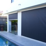 ziptrak shade blind melbourne pool