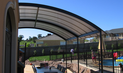 Carbolite Patio Awning Domed