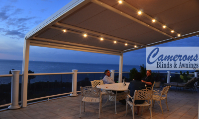 Stobag Alfresco Awning | Retractable Shade | Pergola System | Pergola Cover