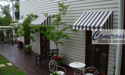 Wedge Canopies Striped